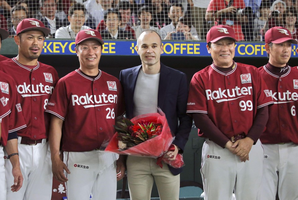Image result for Andres Iniesta​ to vissel kobe