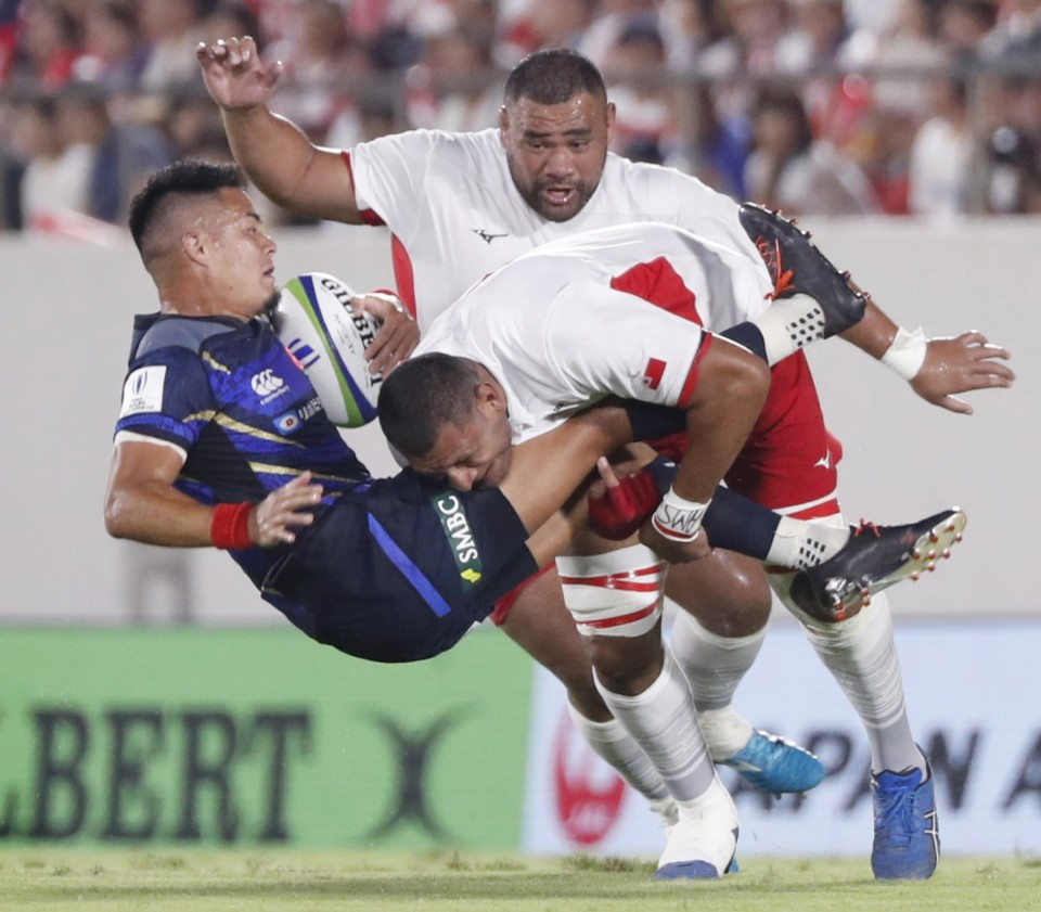 Japan thrash Tonga, set up Pacific Nations Cup decider against USA