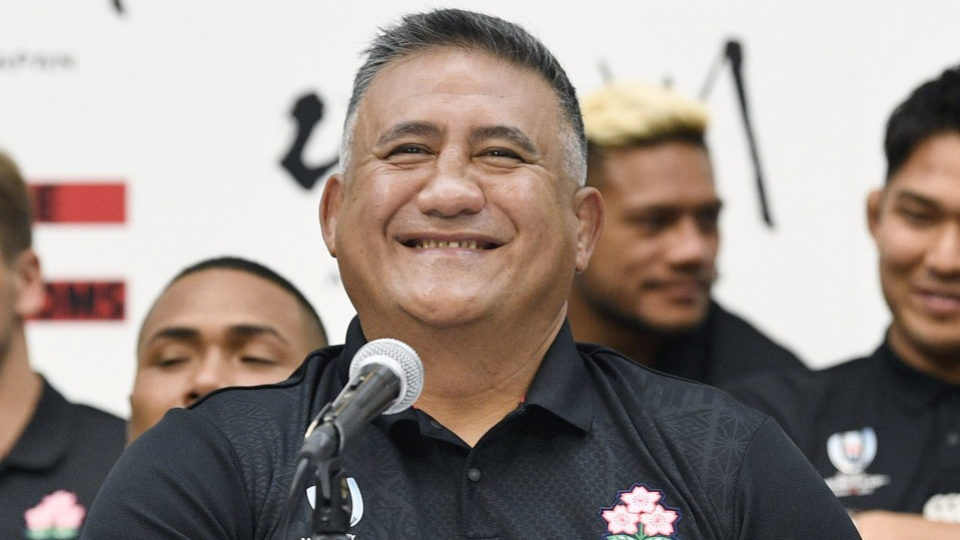 JRFU renews contract with Japan head coach Joseph until 2023