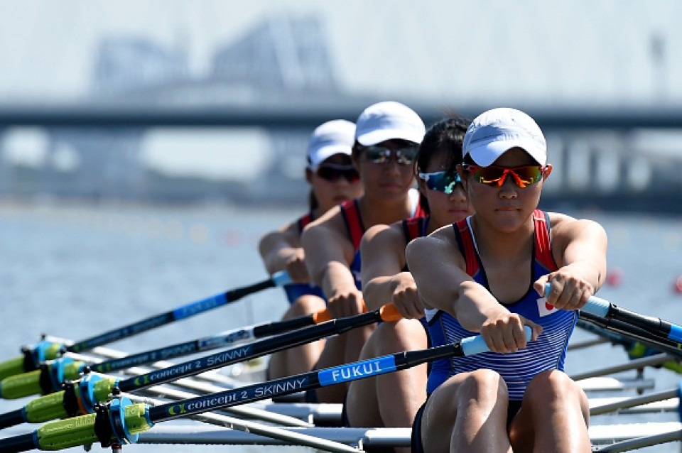 Olympics: Rowers at test event treated for heatstroke symptoms
