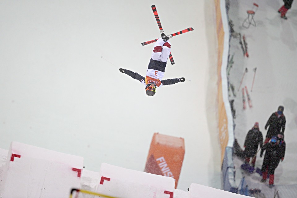 Laffont wins women's moguls gold for France