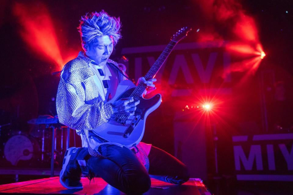 Miyavi And Guests Celebrate Samurai Guitarist S Latest Release At