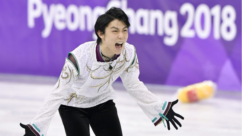 finest selection 36cbd 4567d Olympics  Hanyu wins 2nd consecutive gold