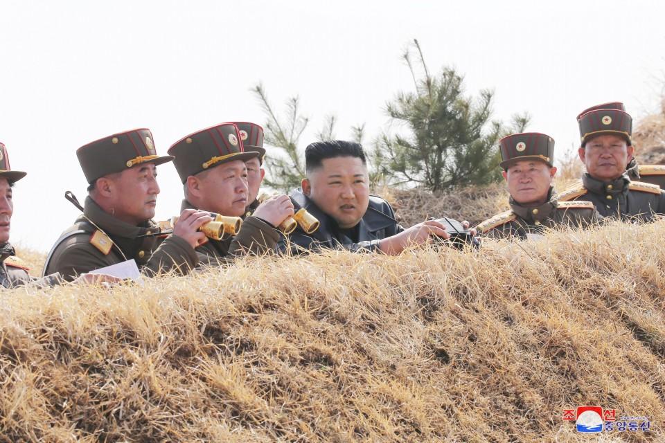 North Korea fires suspected short-range missiles, S Korea says