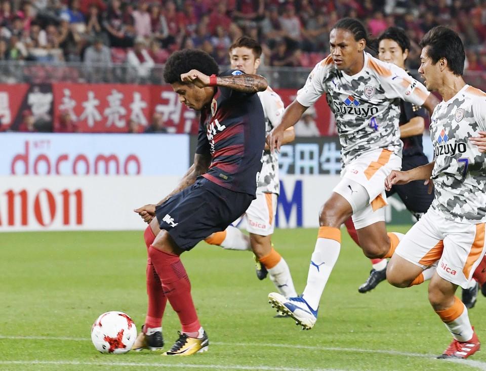 Soccer Kashima Pad Out J League Lead With Win Vs Shimizu