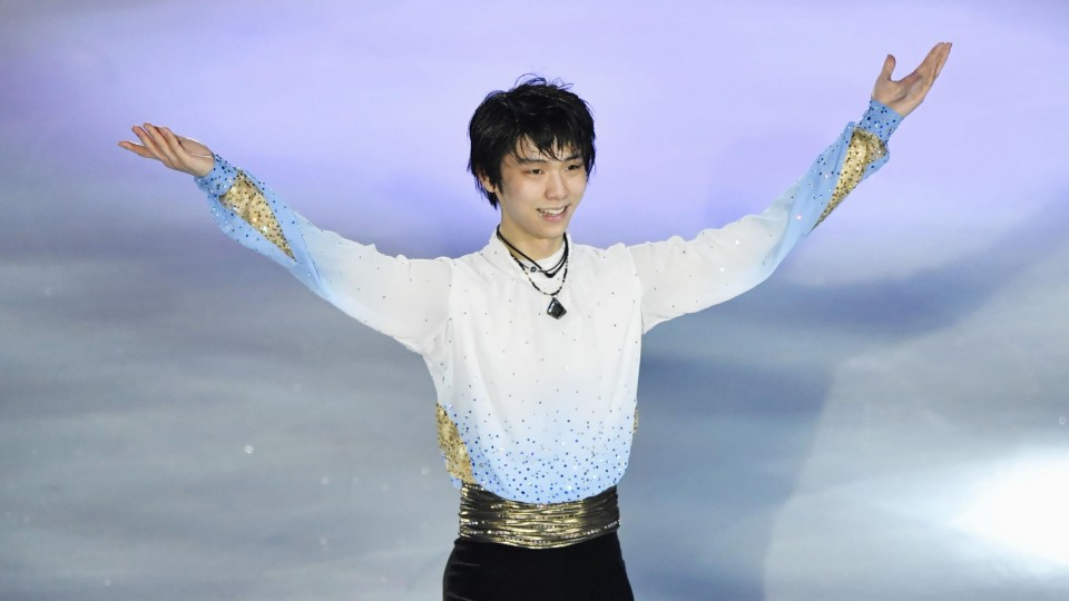 Defending champ Hanyu on top after sparkling Olympic showing