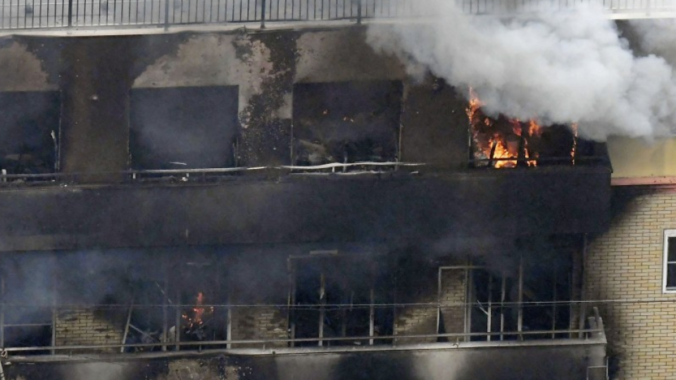 Most victims of Kyoto Animation fire found on stairs to rooftop