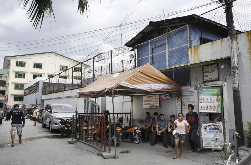 Detainees offer a glimpse of life in Manila's most congested jail