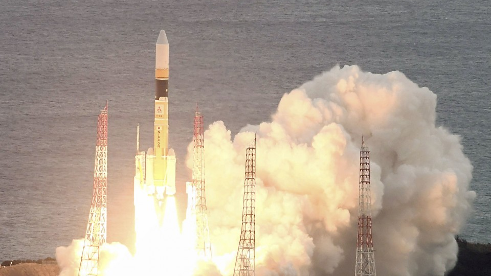 Japan launches data relay satellite to improve disaster response - Kyodo News Plus