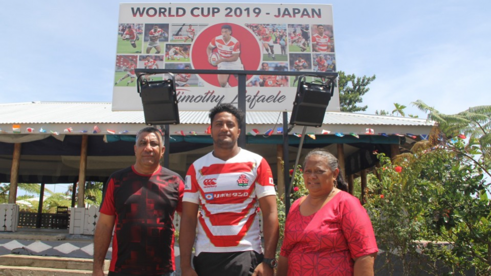 Rugby Timothy Lafaele S Family In