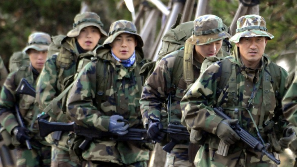 Postponed U S -S  Korea joint military drills get under way