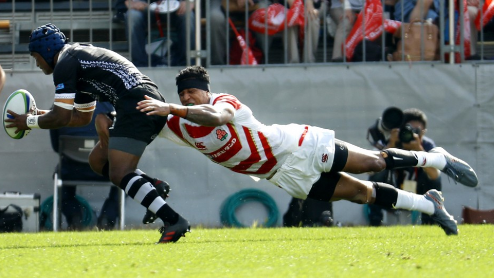 Rugby Tupou S Try Saver Reflection Of Japan S Improved Defense