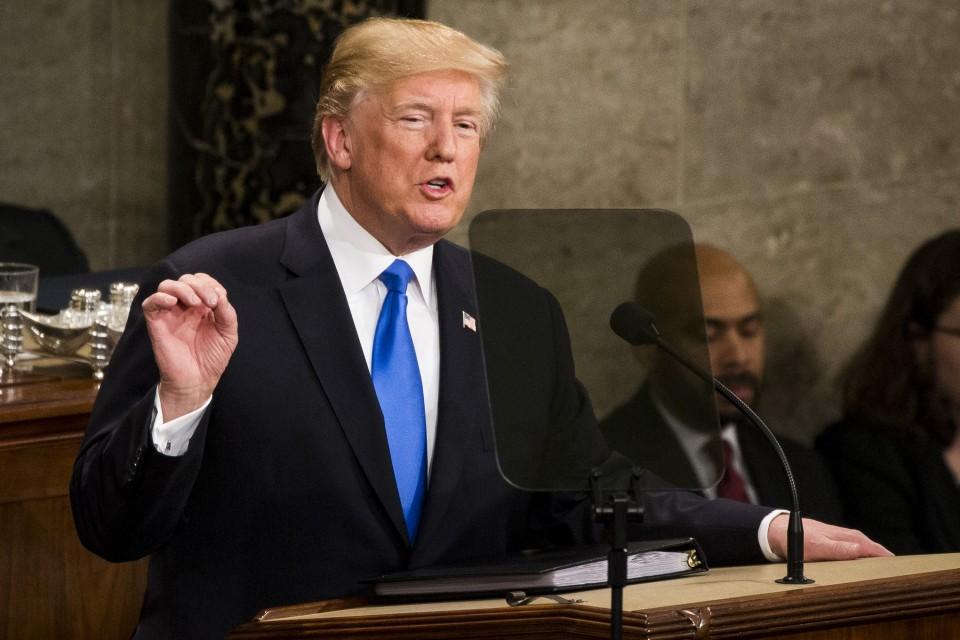 Donald Trump Warns China, Russia Challenge American Values