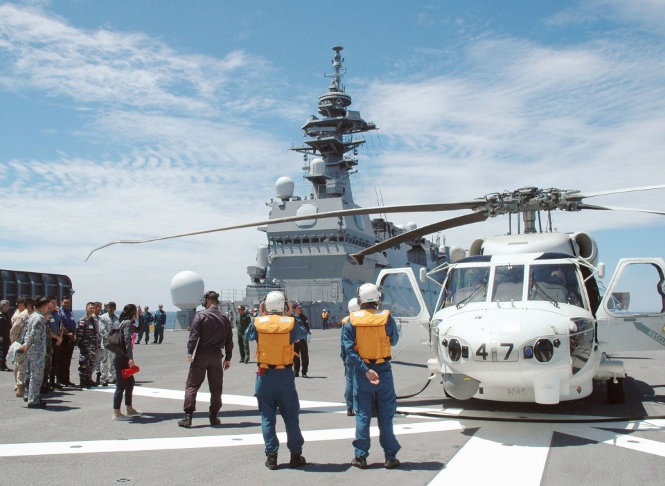 Japan shrugs off constitutional concerns, but question remains: Are aircraft carriers necessary?