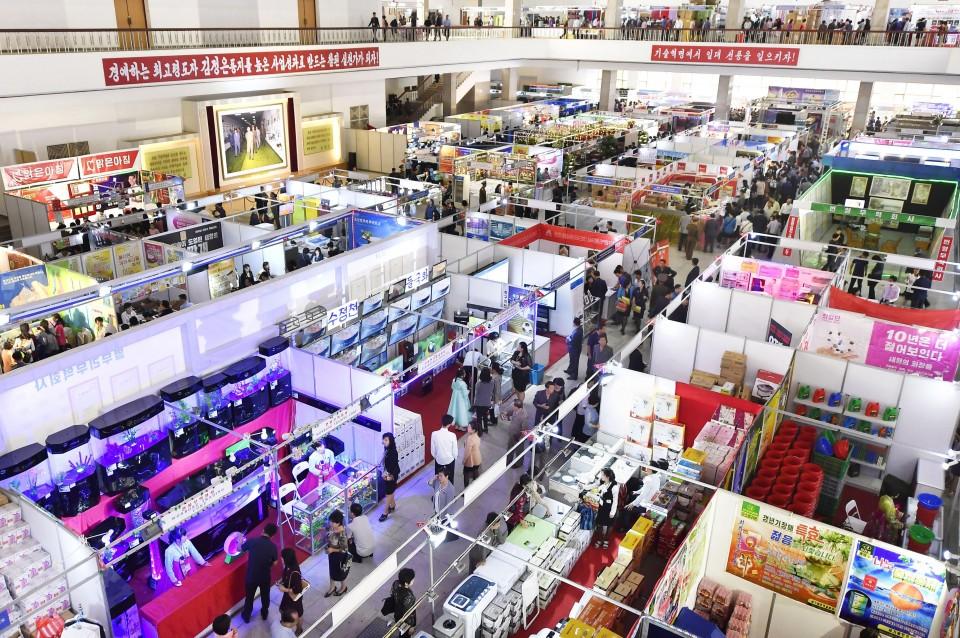 n korea opens international trade fair amid new u n. Black Bedroom Furniture Sets. Home Design Ideas