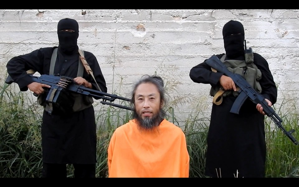 Japan confirms ID of journalist freed from 3 yrs. of Syrian captivity