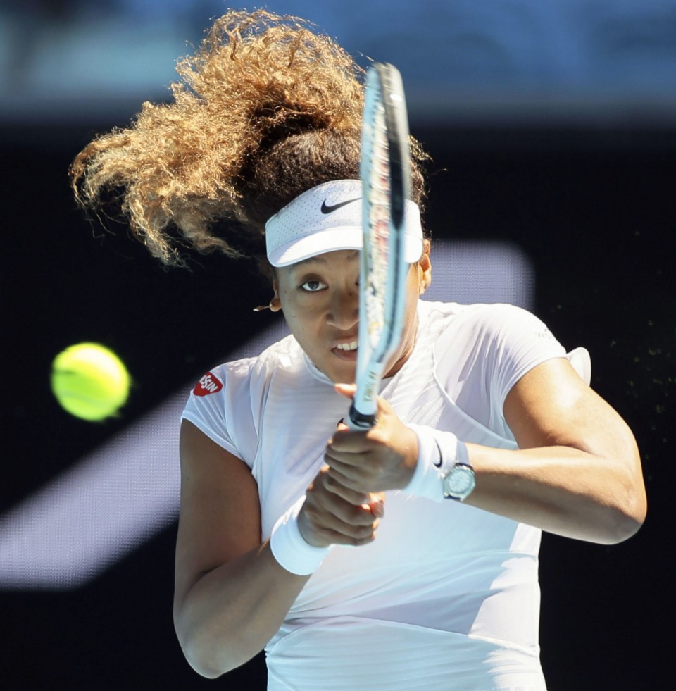 Naomi Osaka reaches quarterfinals of Australian Open warm-up event