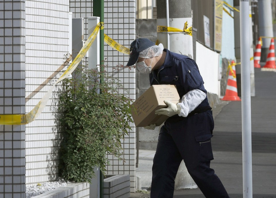 Police arrest Japanese man after body parts found in apartment""