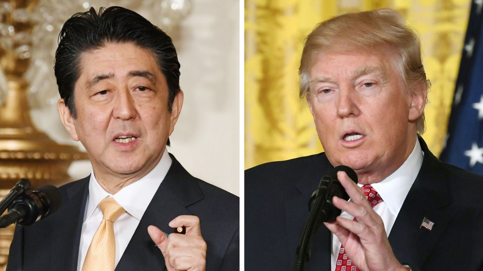 Abe seeks Trump visit after Kim talks