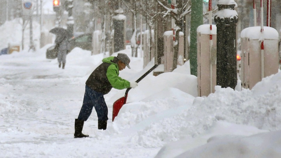 Japan braces for heavy snow as nation prepares for year-end
