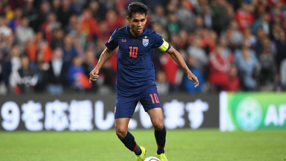 Football: Thai forward Teerasil joins S-Pulse