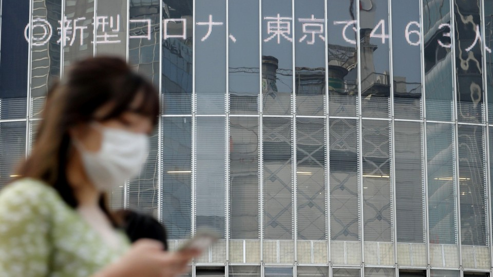 Japan reports record coronavirus infections, exceed 1,000 for 3rd day
