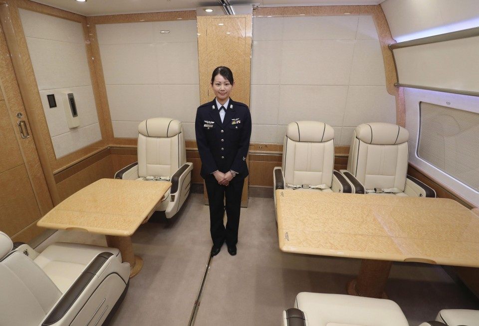 Sneak Preview Inside Japan S New Government Airplane