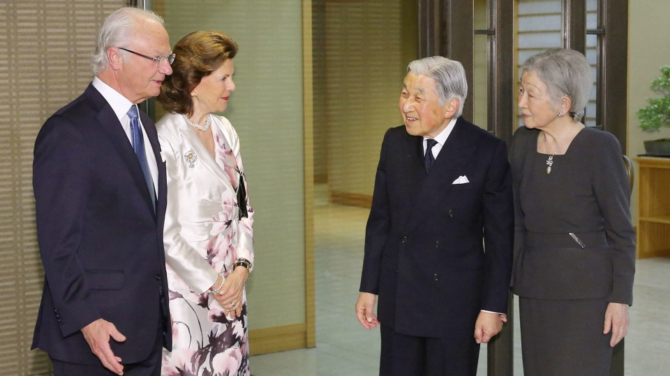 Swedish King Hopes To Maintain Ties With Japanese Emperor After Abdication