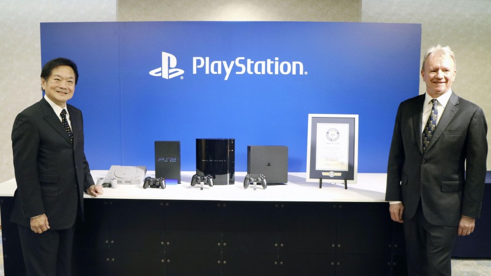 PlayStation Record Guinness certificado