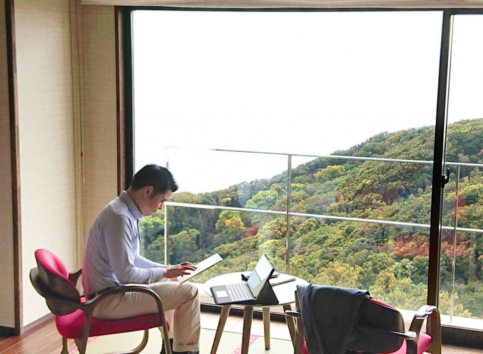"""Japan national park facilities upgraded with """"workation"""" in mind"""