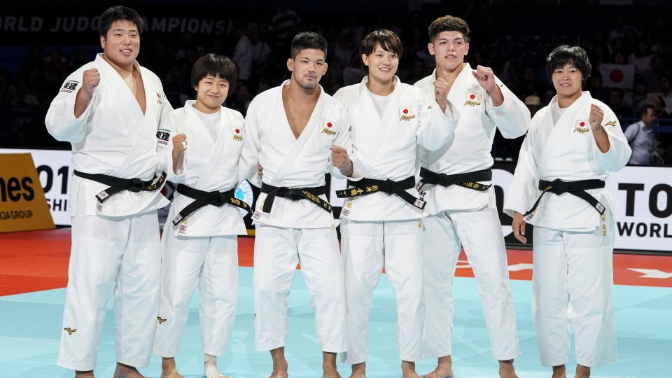 Judo Japan Captures 3rd Straight Mixed Team Gold Medal