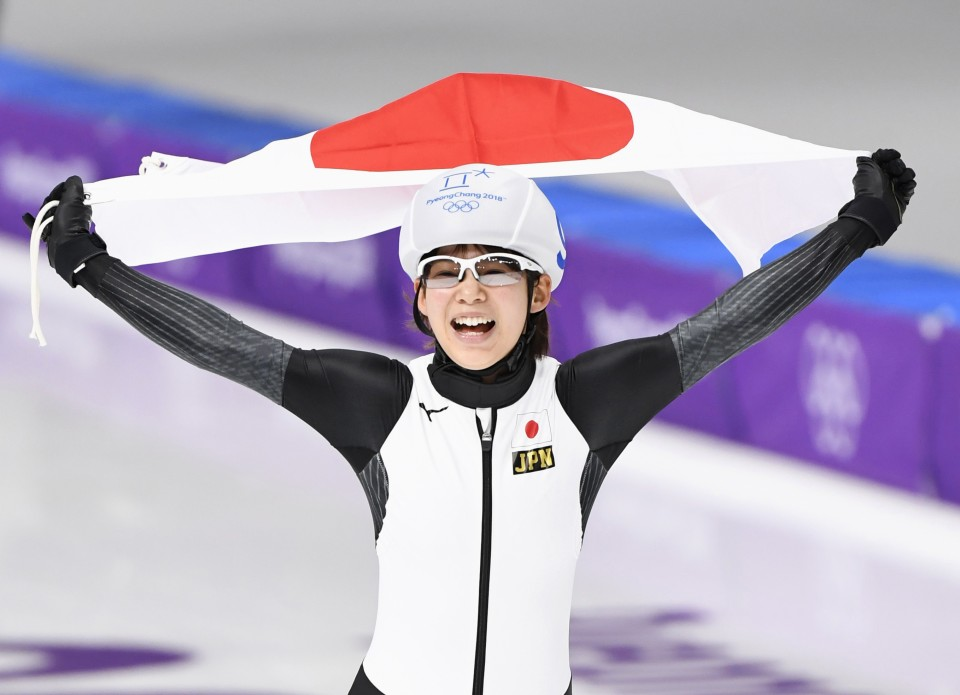Nana Takagi zooms to gold in women's mass start final