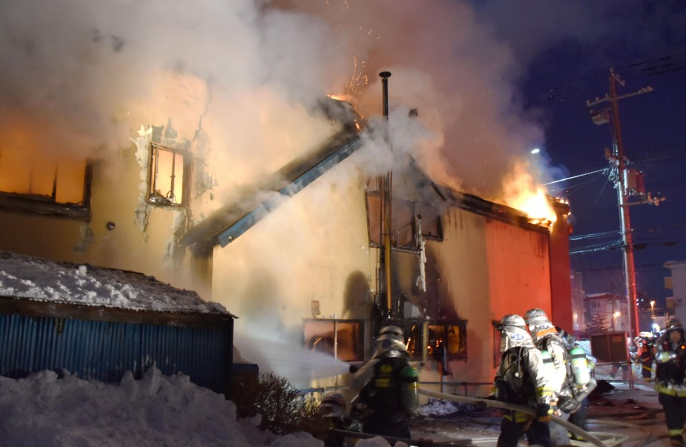 11 found dead after fire guts Sapporo residential welfare facility