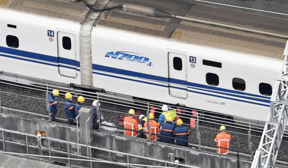 Crack found in bullet train could have caused derailment: JR