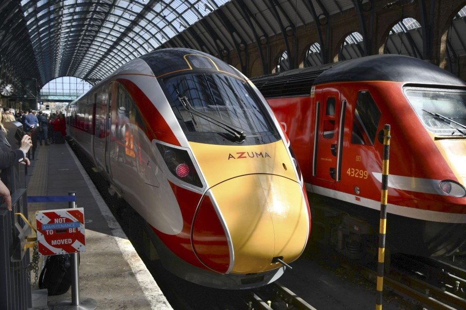 Hitachi-made high-speed train launched for British passenger