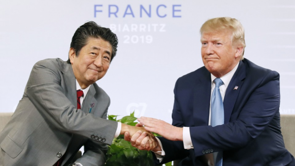 Trump says United States reaches trade deals with Japan, no word on cars