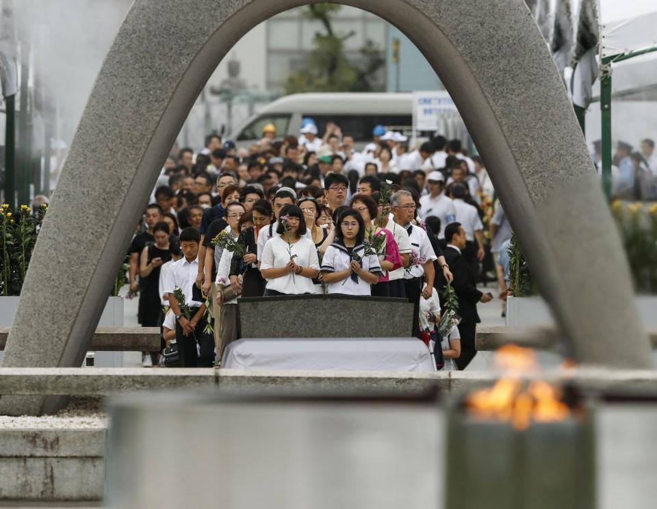 short speech on hiroshima and nagasaki day