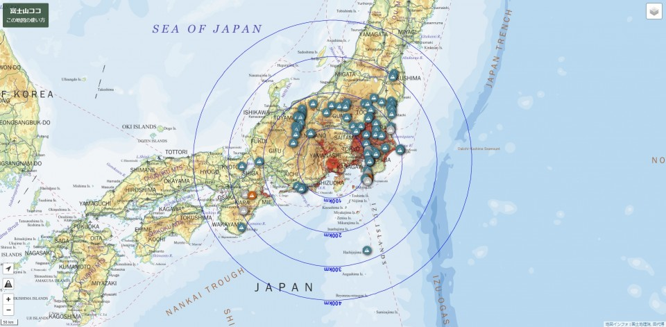 Mt Fuji Here New Online Map Shows Where Japan S Top Peak Can Be