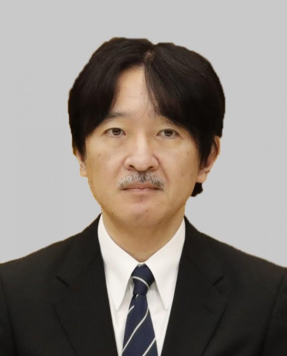 photo l - Fumihito, o príncipe herdeiro, deve participar da cerimônia de encerramento das Olimpíadas de Tóquio