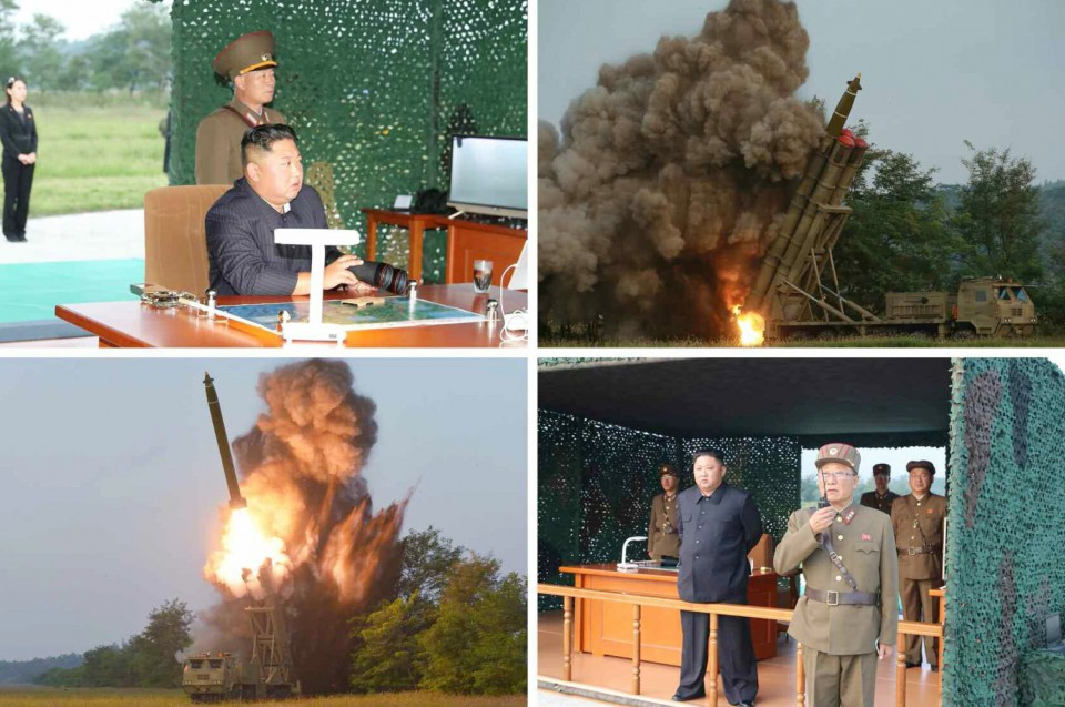 North Korea again tests 'super-large' rocket launcher: KCNA