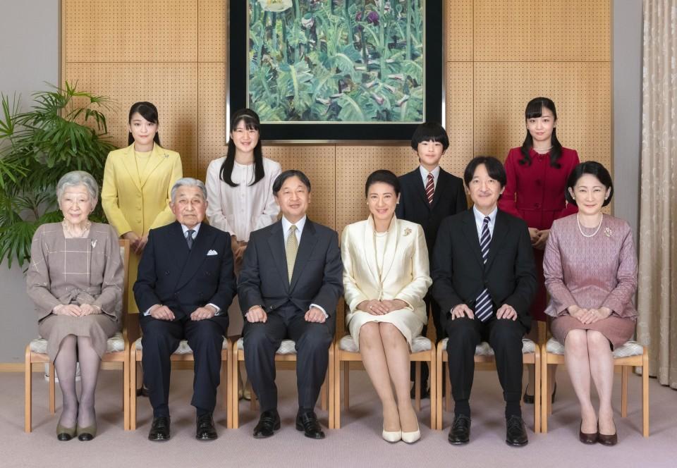 العائلة الإمبراطورية اليابانية | عبر وكالة البلاط الإمبراطوري الياباني وكيودو
