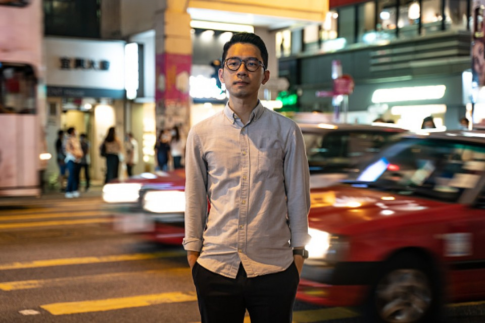 Hong Kong activist Joshua Wong pleads for Germany's support