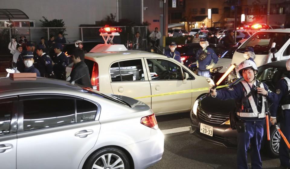 الشرطة تحاصر الجاني في كيوتو | عبر كيودو
