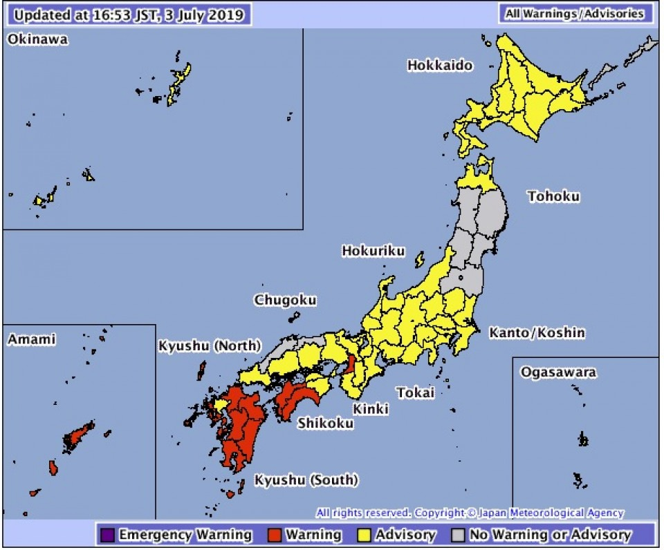 Japan's Kagoshima City Orders 600,000 Residents Into Evacuation Centres