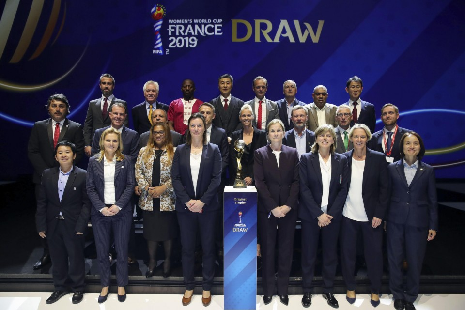 United States drawn to face Thailand Chile Sweden in Women's World Cup