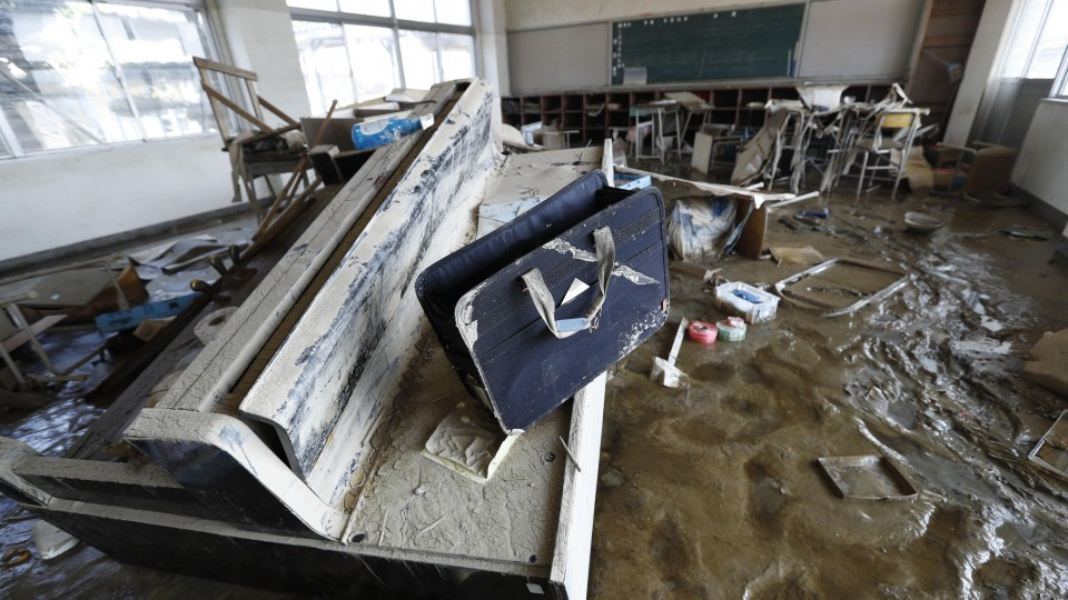 Over 250 schools in Japan damaged in rain disaster