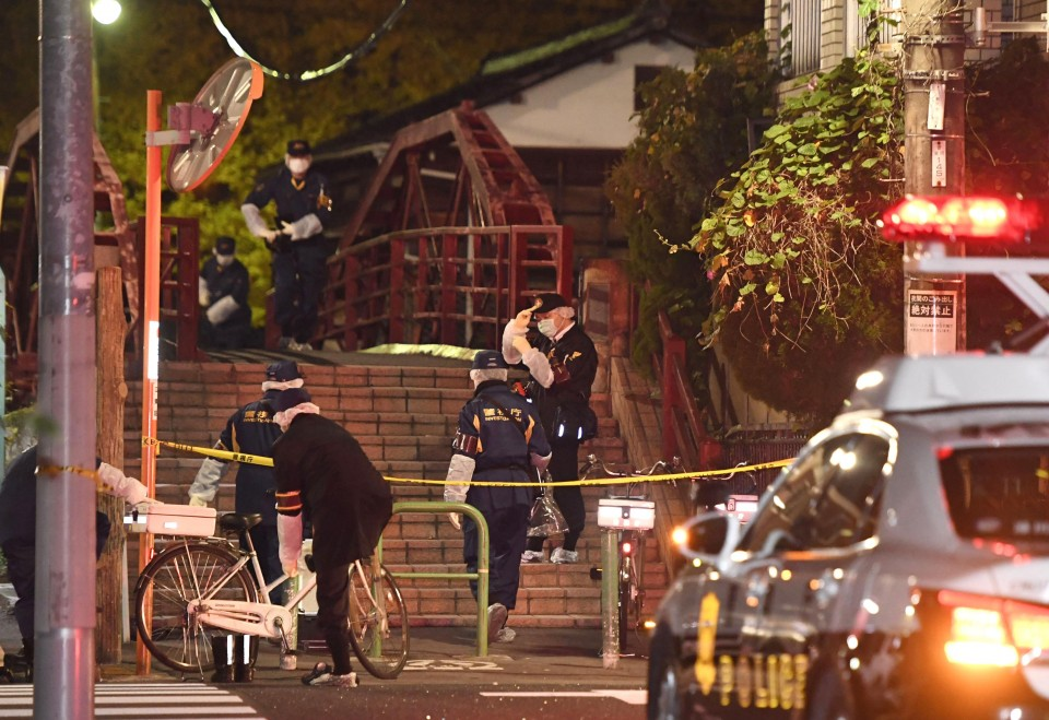 Three dead in Tokyo shrine stabbings