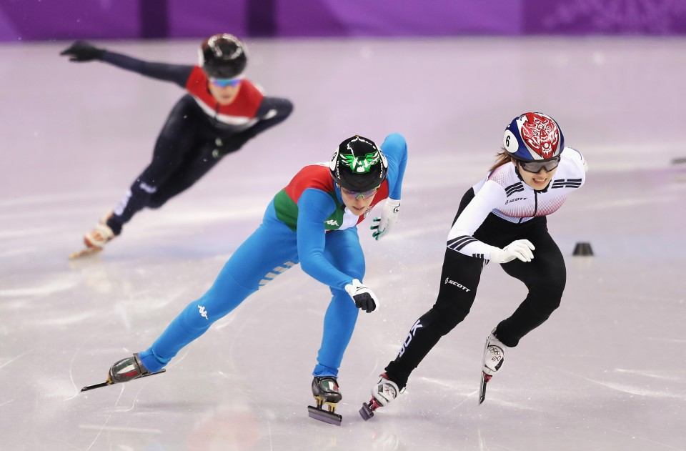 Fontana wins dramatic gold with photo finish in women's short track 500m