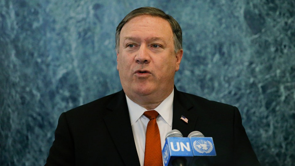 US Pompeo seeks to shore up United Nations  support for North Korean sanctions