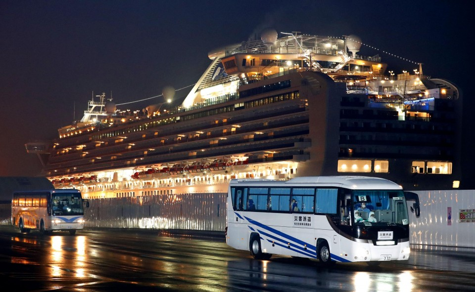 Japan confirms 99 more cases of COVID-19 on cruise ship